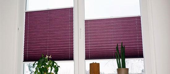 plissee vergleich perfect der deutlichste unterschied zwischen cosiflor und decomatic plissees. Black Bedroom Furniture Sets. Home Design Ideas